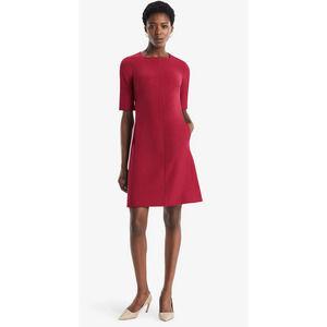 MM Lafleur Emily Square Neck Structured Dress
